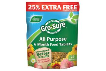 Gro-Sure All purpose 6 months feed 20+5 tablets