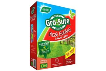 Gro-Sure fast acting lawn seed 30sqm