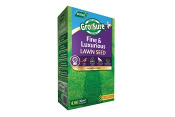 Gro-Sure fine&luxurious lawn seed 30 sqm