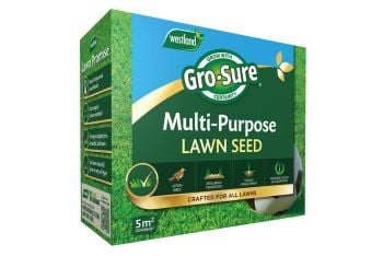 Gro-sure multi purpose lawn seed 5sqm