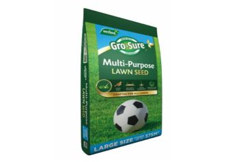 Gro-sure multi purpose lawn seed 375sqm