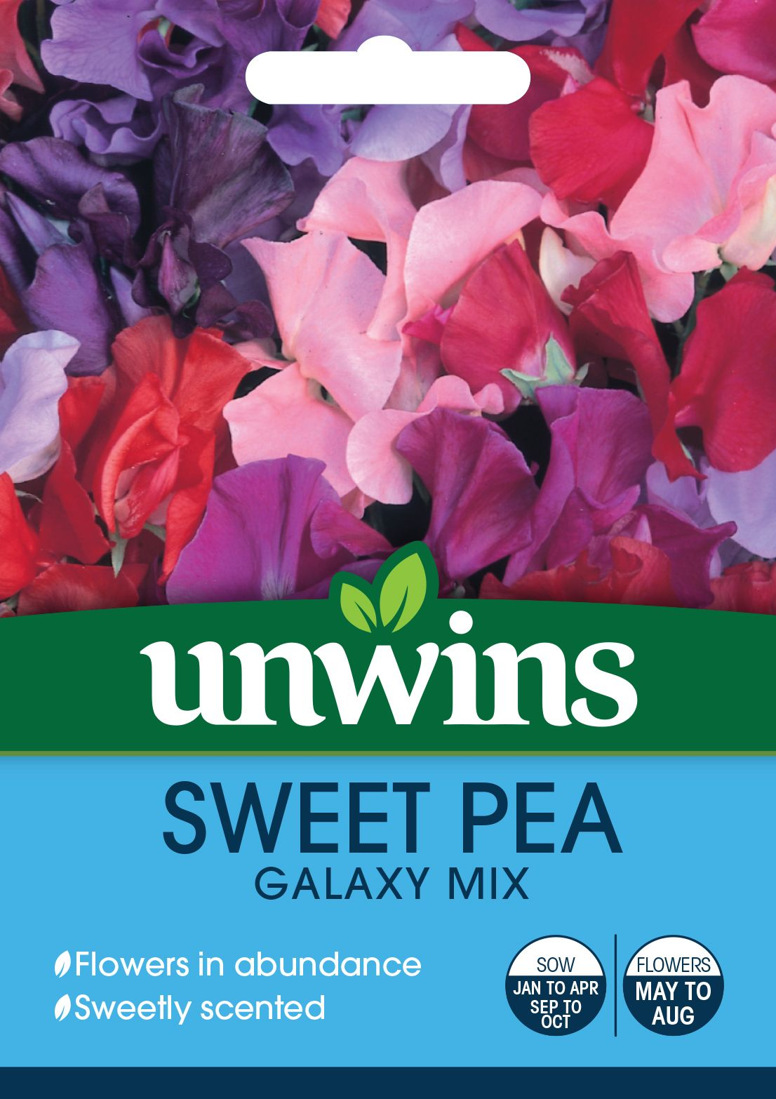 Sweet Pea Galaxy Mixed