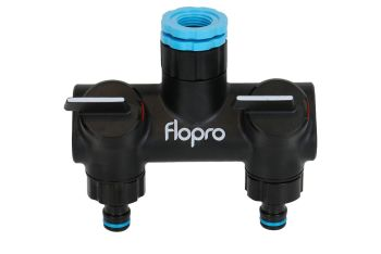 Flopro double tap connector