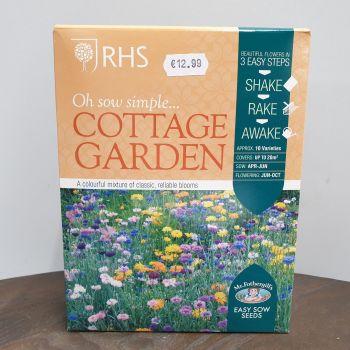 RHS FLOWERS FOR COTTAGE GARDEN box
