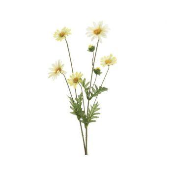 Daisy- polyester-white