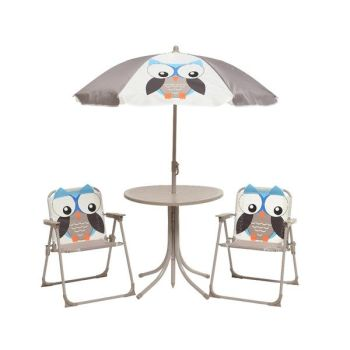KIDS GARDEN FURNITURE SET OWL