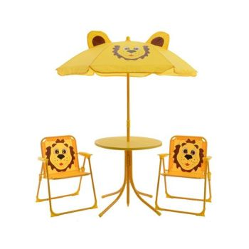 KIDS GARDEN FURNITURE SET LION