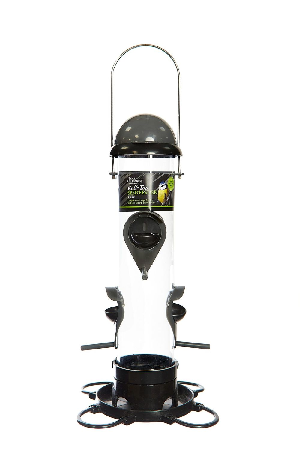 ROLL - TOP SEED FEEDER 4 PORT