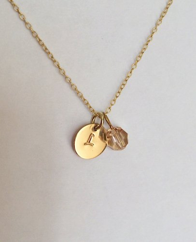 <!--001--> Gold Personalised Necklace