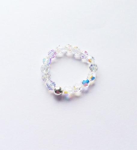 <!--001-->Sparkling Swarovski Crystal Rings
