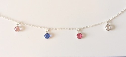 Swarovski Crystal Drops Necklace