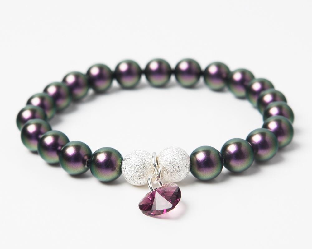 <!--004-->Amethyst Crystal Bracelet