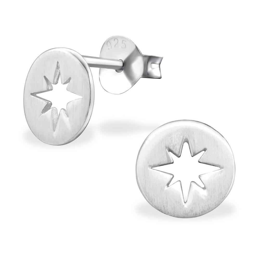 <!--003-->Star Burst Earrings
