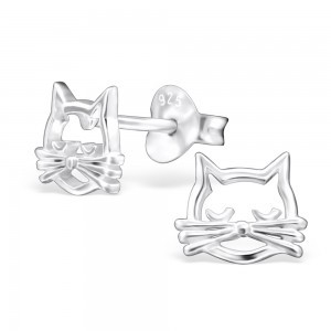 Pussy Cat Earrings