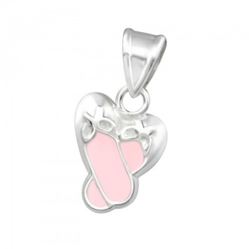 Ballet Shoes Pendant