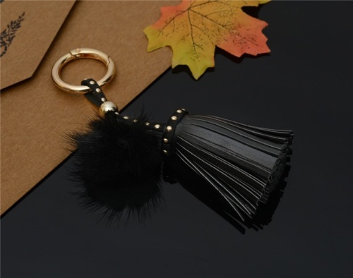 Black Tassel Key Ring (No Swarovski)