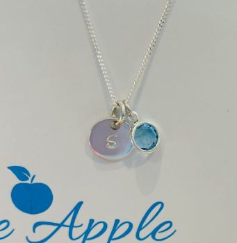 Birthstone Pendant March