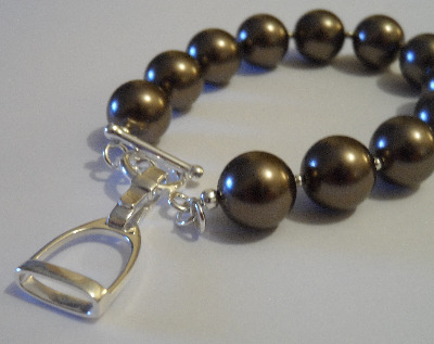<!--004-->Swarovski Stirrup Bracelet