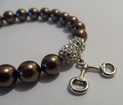 <!--007-->Swarovski Snaffle Bracelet