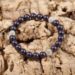Deep Purple Glitter Bomb Bracelet