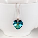 <!--009-->Crystal Bermuda Blue Pendant