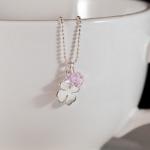 Lucky Clover (Pink) Pendant