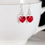 <!--006-->Siam Sweet Heart Earrings
