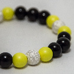 Neon Yellow Nights Bracelet