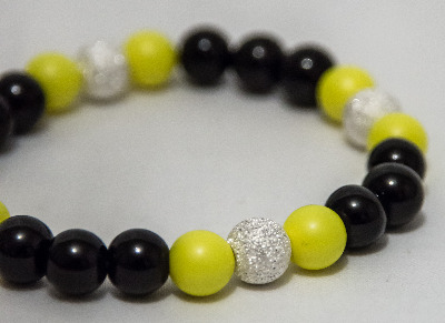 <!--007-->Neon Yellow Nights Bracelet