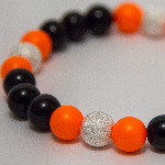 Neon Orange Nights Bracelet