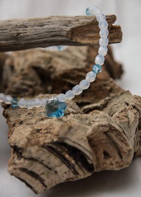 <!--004-->Aqua Glacier Necklace