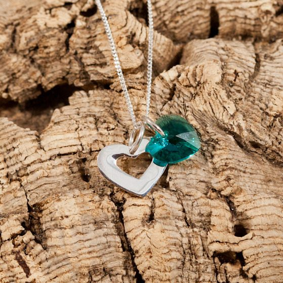 crystal months turquoise
