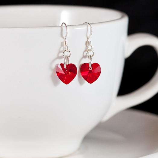 siam sweet heart earrings 2