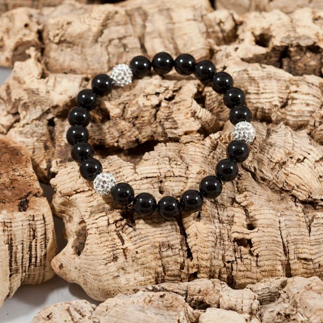 glitter bomb mystic black bracelet