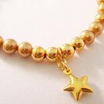 Swarovski Gold Star Bracelet