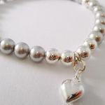 Swarovski Silver Heart Bracelet
