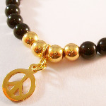 Swarovski Mystic Black Peace Bracelet