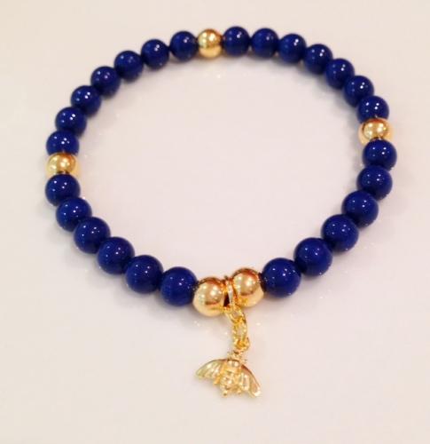 <!--004-->Swarovski & Bumble Bee Bracelet