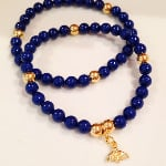 Swarovski & Bumble Bee Bracelet Set