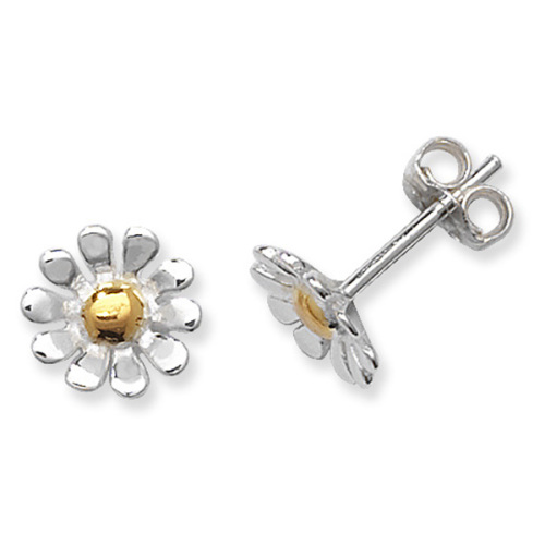 <!--002-->Daisy Gold Touch Earrings