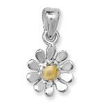 <!--003-->Daisy Gold Touch Pendant