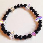 Swarovski Crystal Spike & Crystal Pearl Bracelet