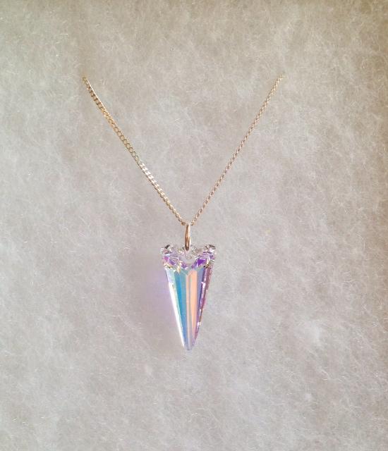 <!--011-->Swarovski Crystal Spike Pendant