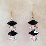 Swaarovski Double Spike Earrings