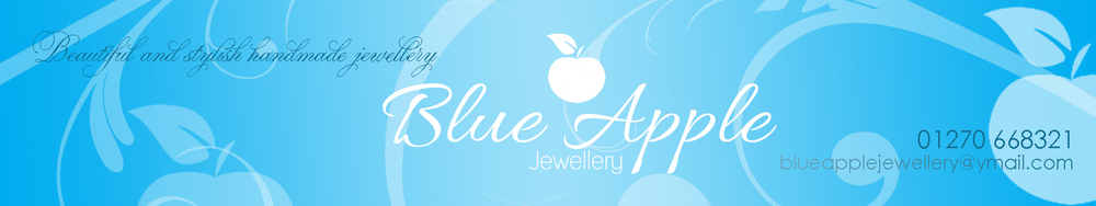 Blue Apple Jewellery, site logo.