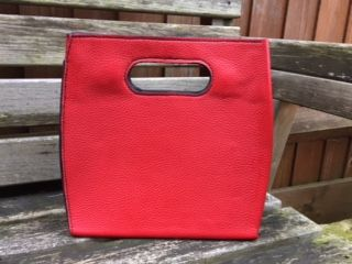red one piece bag