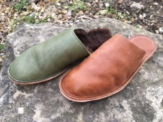 bespoke leather slippers