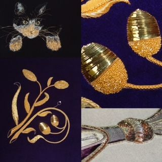 Introduction to goldwork Tuesday 10th August 2021