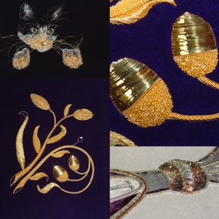 Introduction to goldwork Wednesday 7th April 2021