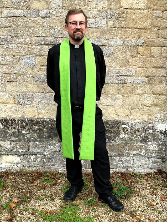 PATTERN ONLY Clergy Stole